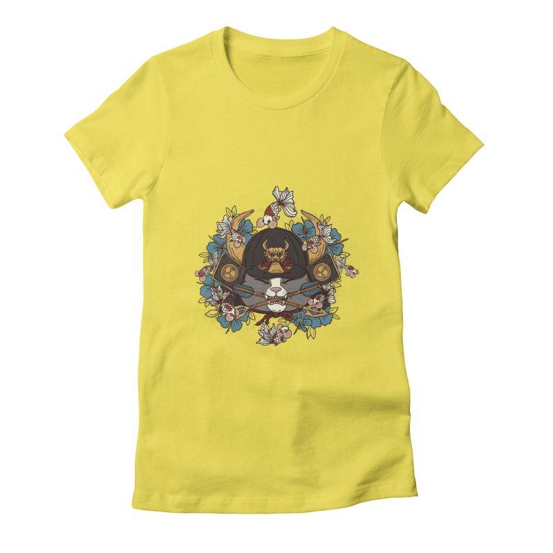Fruitful Catch Women's Fitted T-Shirt by xiaobaosg