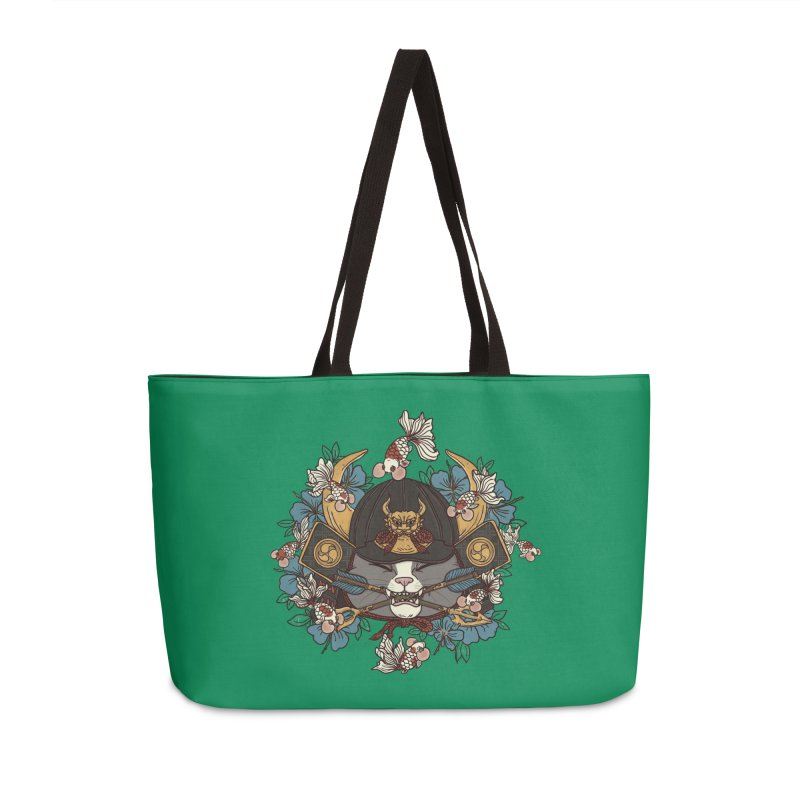 Fruitful Catch Accessories Weekender Bag Bag by xiaobaosg