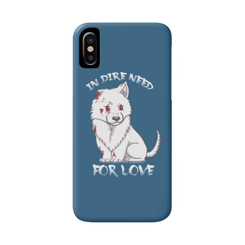In dire need of love Accessories Phone Case by xiaobaosg