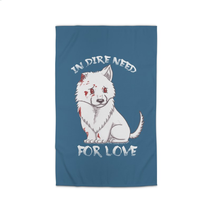 In dire need of love Home Rug by xiaobaosg