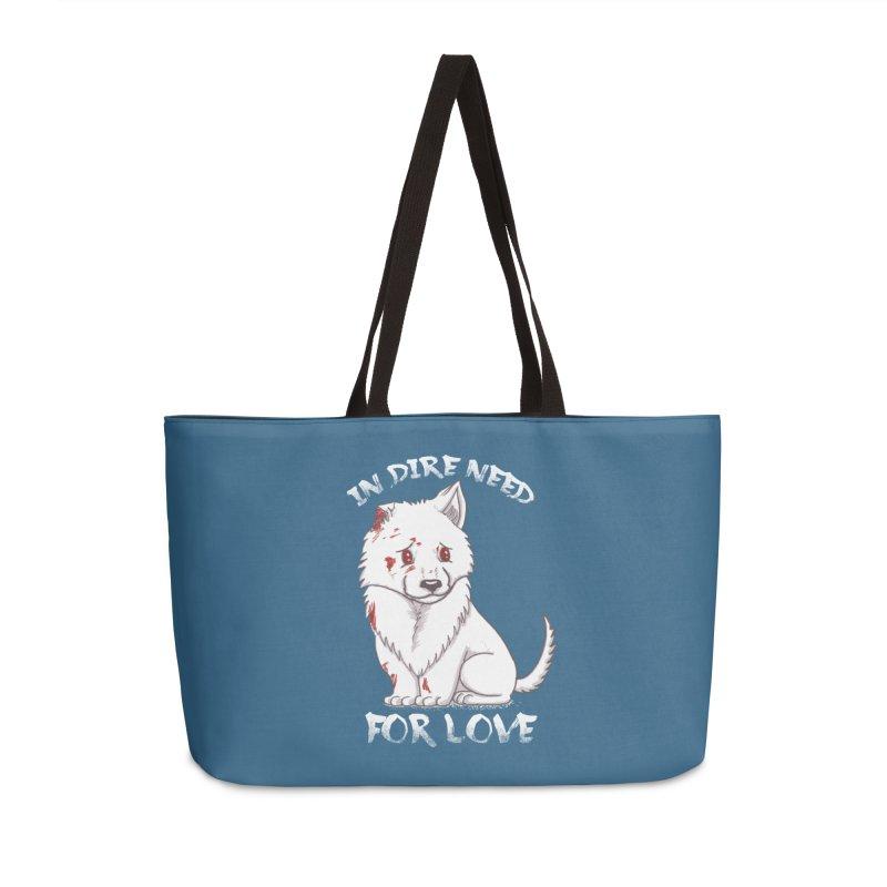 In dire need of love Accessories Weekender Bag Bag by xiaobaosg