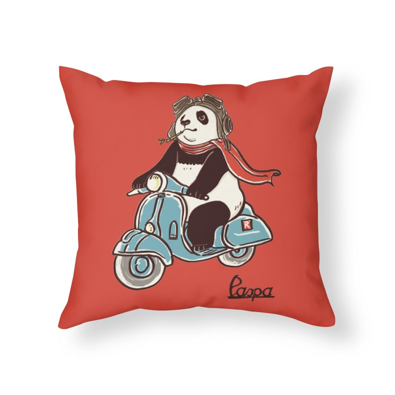 Pespa Home Throw Pillow by xiaobaosg