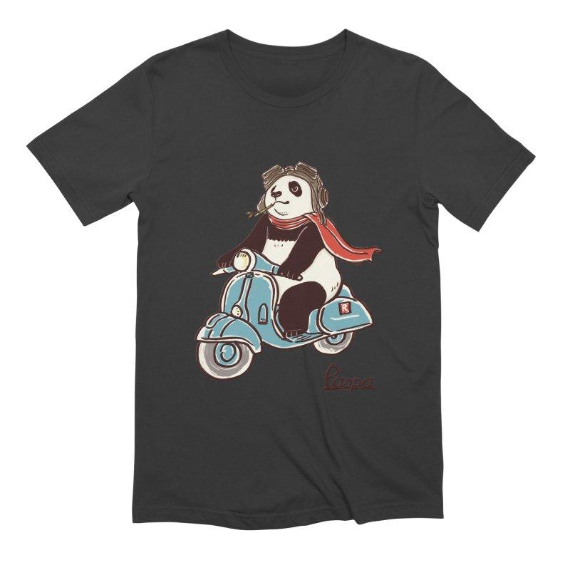 Pespa Men's Extra Soft T-Shirt by xiaobaosg
