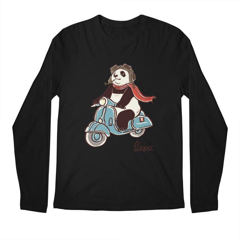 Pespa Men's Regular Longsleeve T-Shirt by xiaobaosg