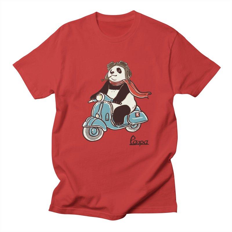 Pespa Men's Regular T-Shirt by xiaobaosg