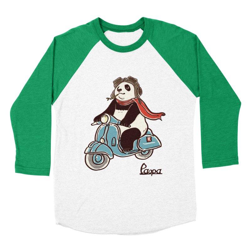 Pespa Women's Baseball Triblend Longsleeve T-Shirt by xiaobaosg