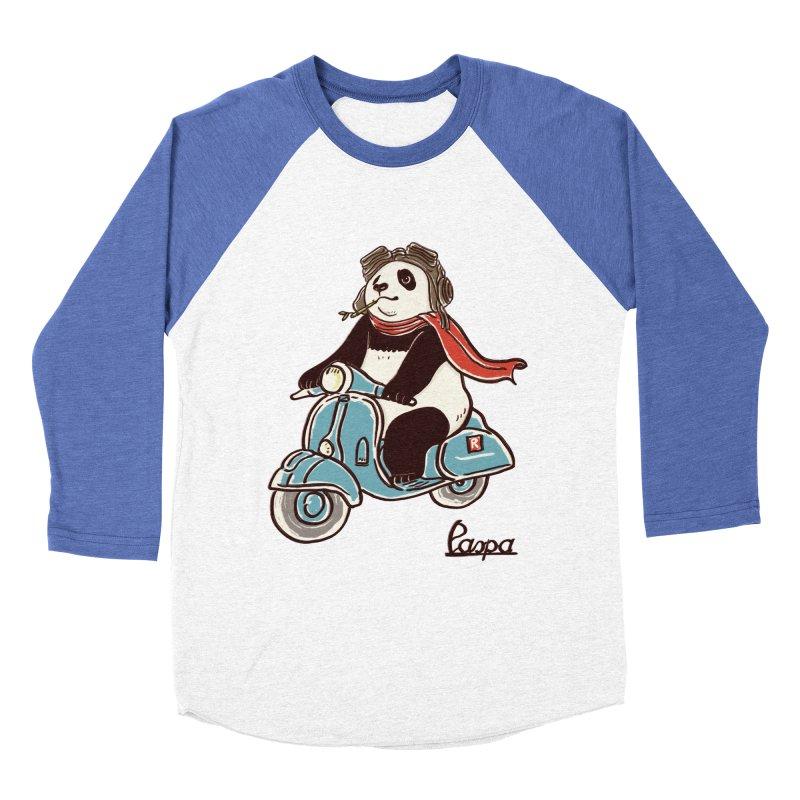 Pespa Men's Baseball Triblend Longsleeve T-Shirt by xiaobaosg