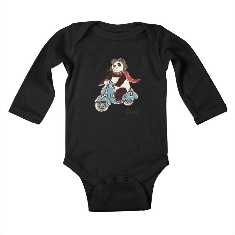 Pespa Kids Baby Longsleeve Bodysuit by xiaobaosg