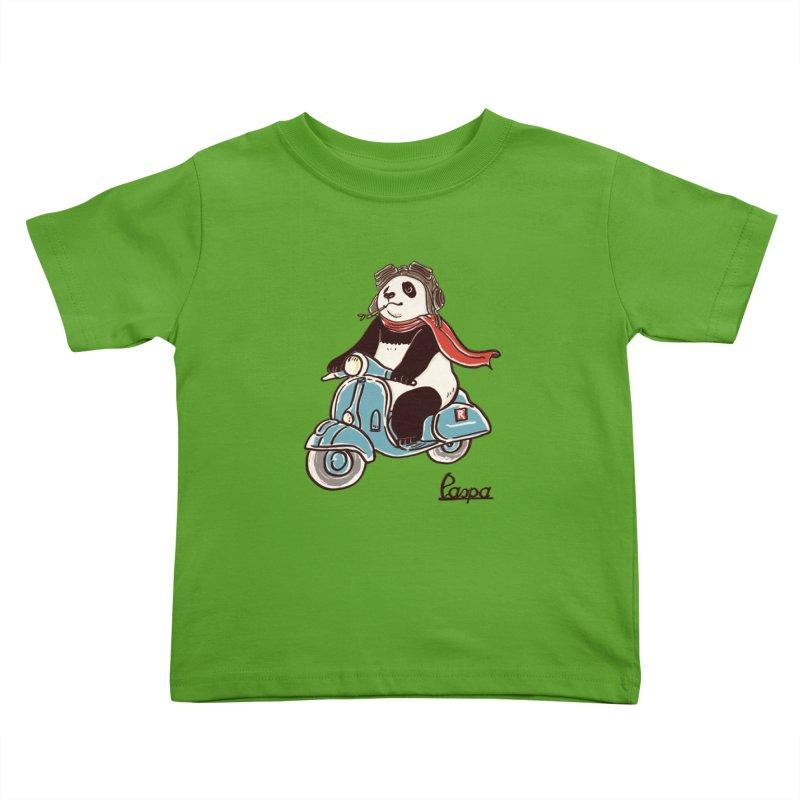 Pespa Kids Toddler T-Shirt by xiaobaosg