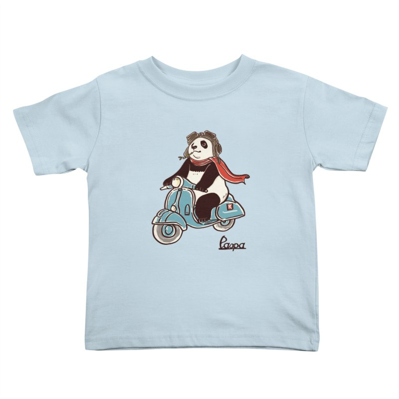 Pespa Kids Toddler T-Shirt by xiaobaosg