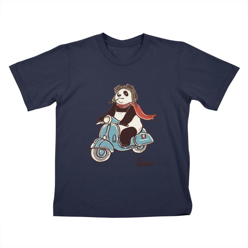 Pespa Kids T-Shirt by xiaobaosg