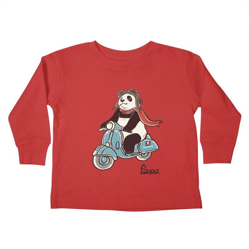 Pespa Kids Toddler Longsleeve T-Shirt by xiaobaosg