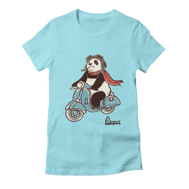Pespa Women's Fitted T-Shirt by xiaobaosg