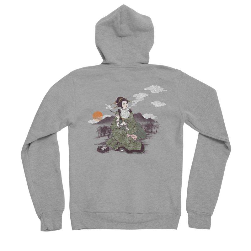 The Cloud Maker Women's Sponge Fleece Zip-Up Hoody by xiaobaosg