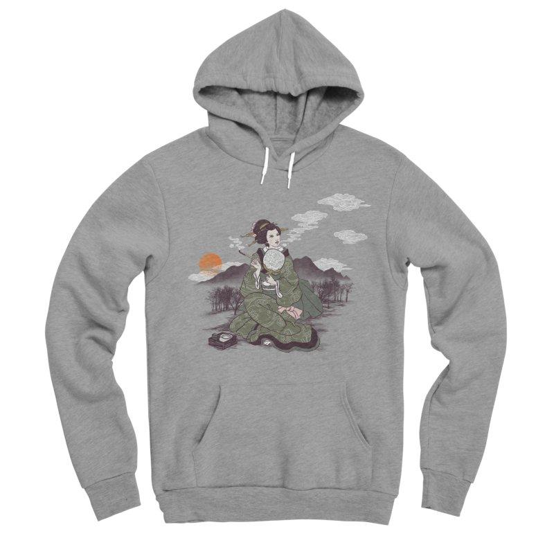 The Cloud Maker Men's Sponge Fleece Pullover Hoody by xiaobaosg