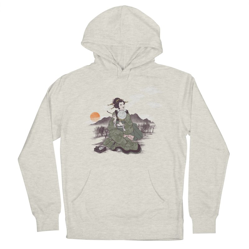 The Cloud Maker Men's French Terry Pullover Hoody by xiaobaosg