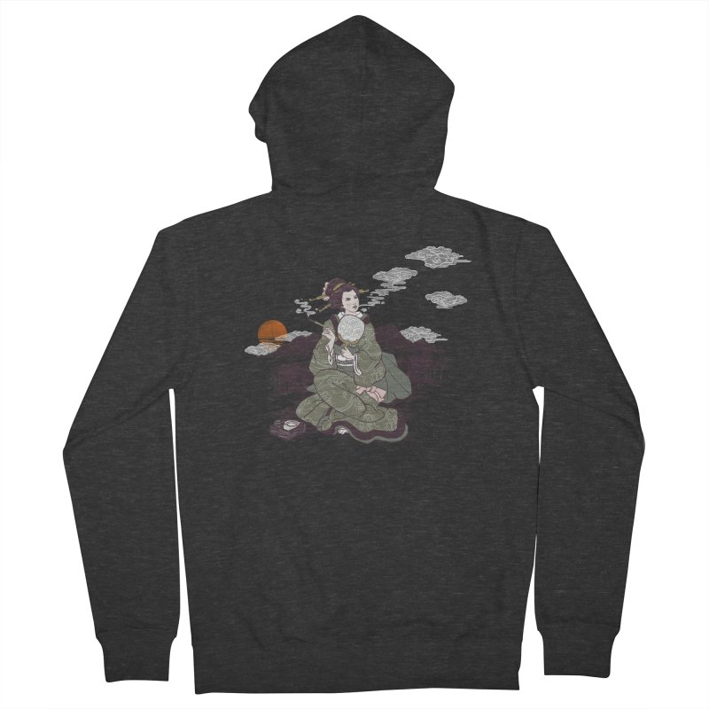 The Cloud Maker Men's French Terry Zip-Up Hoody by xiaobaosg