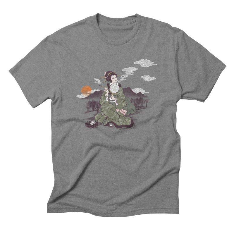 The Cloud Maker Men's Triblend T-Shirt by xiaobaosg