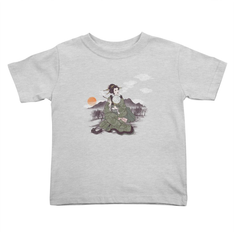 The Cloud Maker Kids Toddler T-Shirt by xiaobaosg