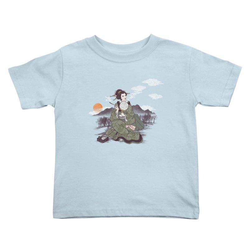 The Cloud Maker Kids Toddler T-Shirt by xiaobaosg