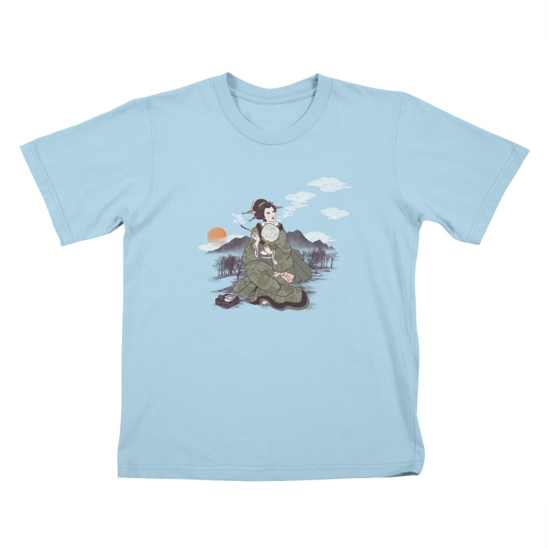 The Cloud Maker Kids T-Shirt by xiaobaosg