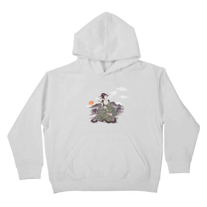 The Cloud Maker Kids Pullover Hoody by xiaobaosg