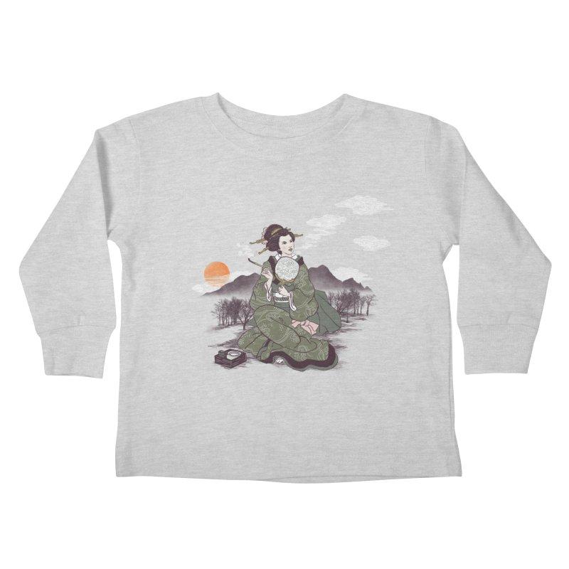 The Cloud Maker Kids Toddler Longsleeve T-Shirt by xiaobaosg
