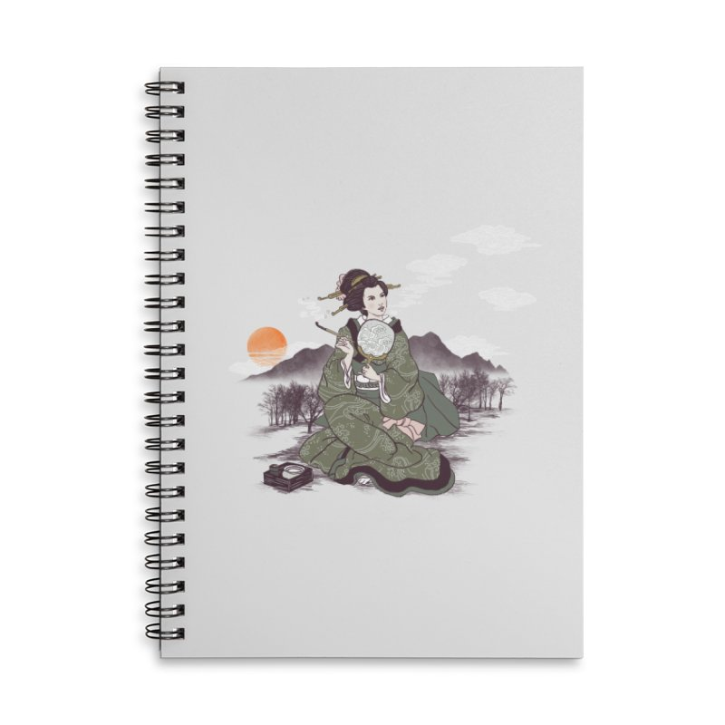 The Cloud Maker Accessories Lined Spiral Notebook by xiaobaosg