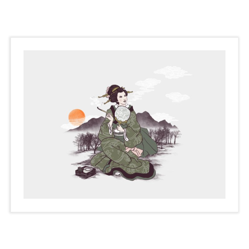 The Cloud Maker Home Fine Art Print by xiaobaosg