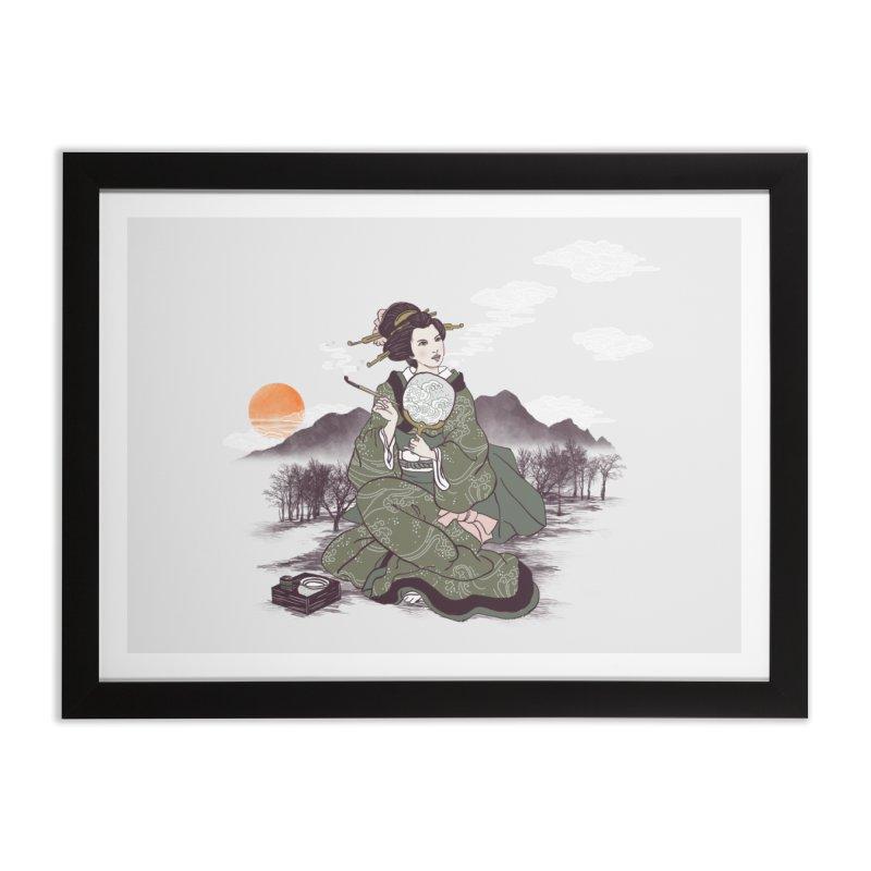 The Cloud Maker Home Framed Fine Art Print by xiaobaosg