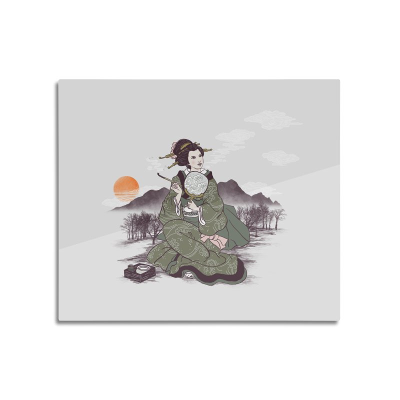 The Cloud Maker Home Mounted Aluminum Print by xiaobaosg