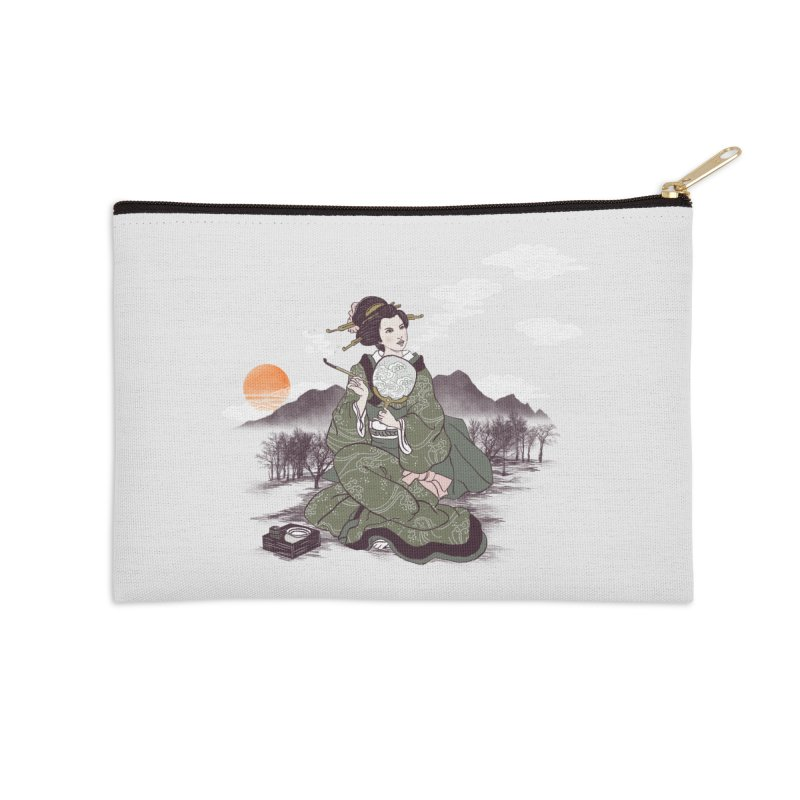The Cloud Maker Accessories Zip Pouch by xiaobaosg