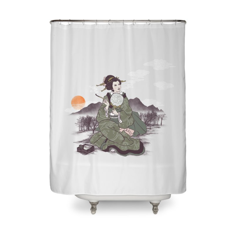 The Cloud Maker Home Shower Curtain by xiaobaosg