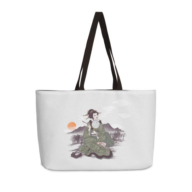 The Cloud Maker Accessories Weekender Bag Bag by xiaobaosg