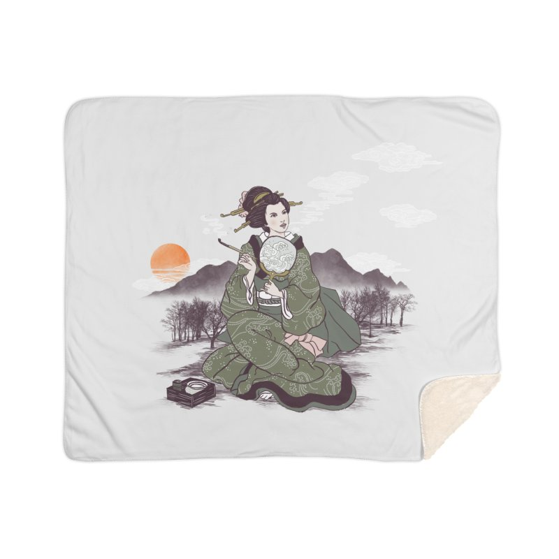 The Cloud Maker Home Sherpa Blanket Blanket by xiaobaosg
