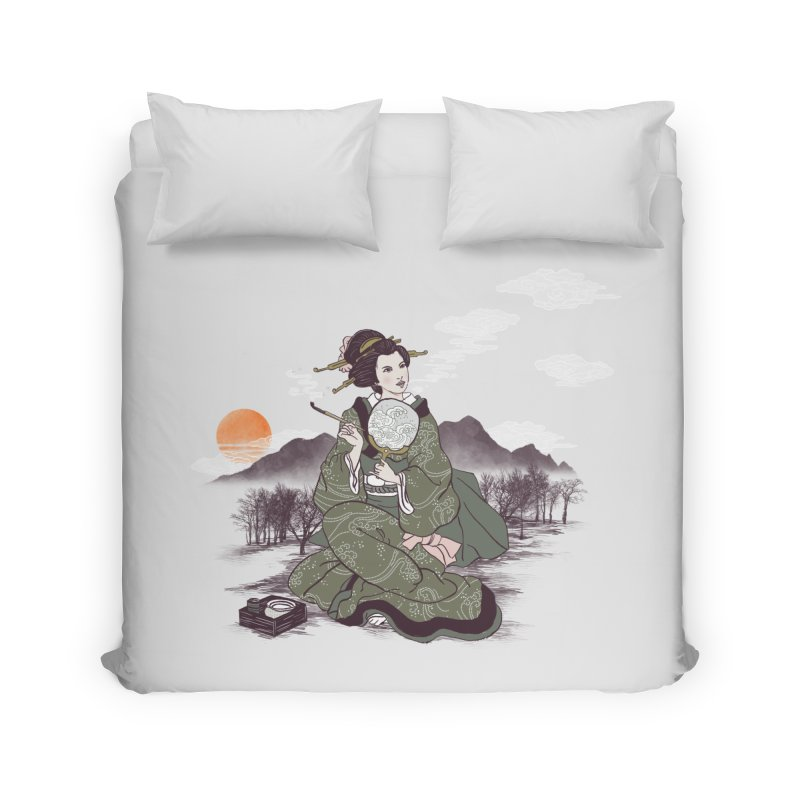 The Cloud Maker Home Duvet by xiaobaosg