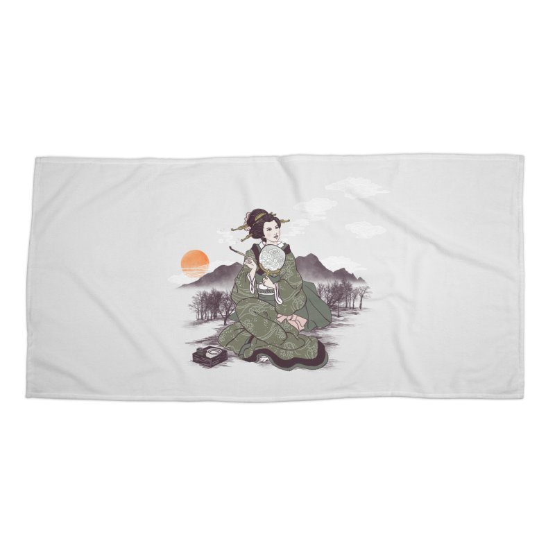 The Cloud Maker Accessories Beach Towel by xiaobaosg