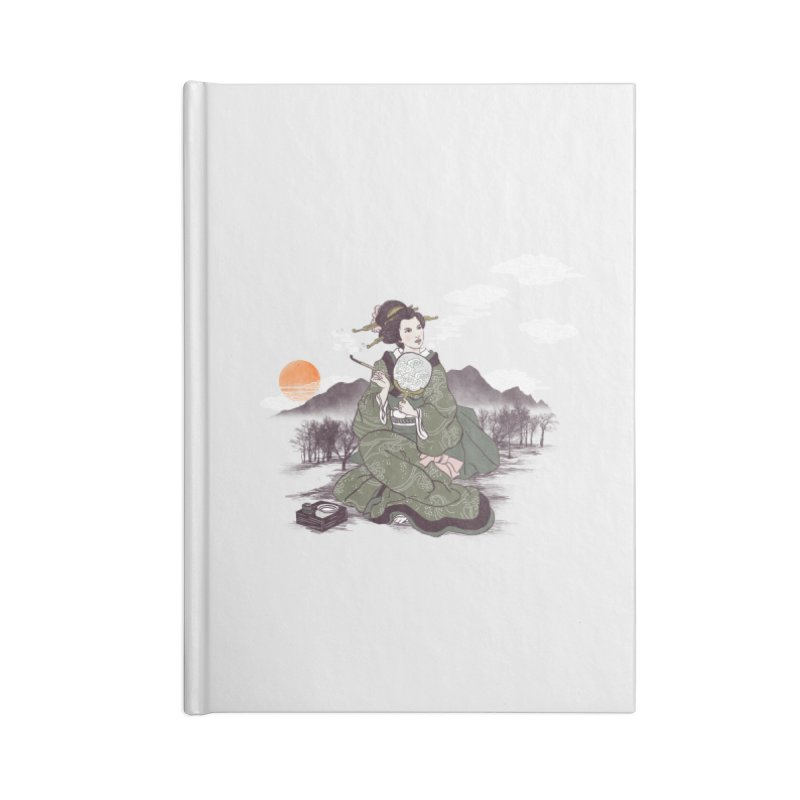 The Cloud Maker Accessories Blank Journal Notebook by xiaobaosg