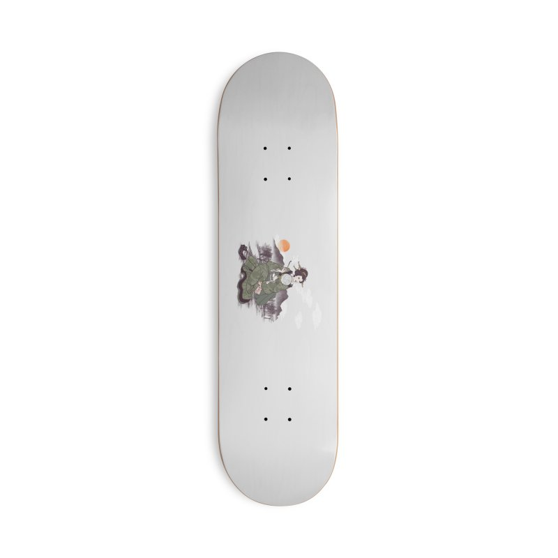 The Cloud Maker Accessories Deck Only Skateboard by xiaobaosg