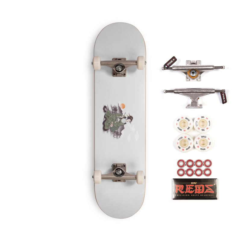 The Cloud Maker Accessories Complete - Pro Skateboard by xiaobaosg