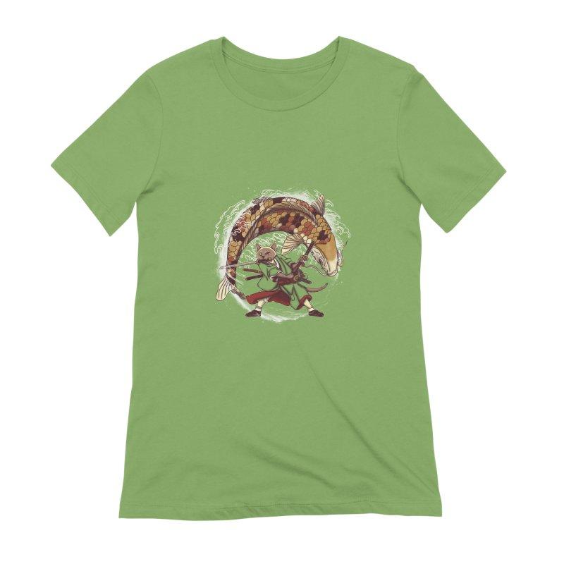 Three Swords Cat Women's Extra Soft T-Shirt by xiaobaosg