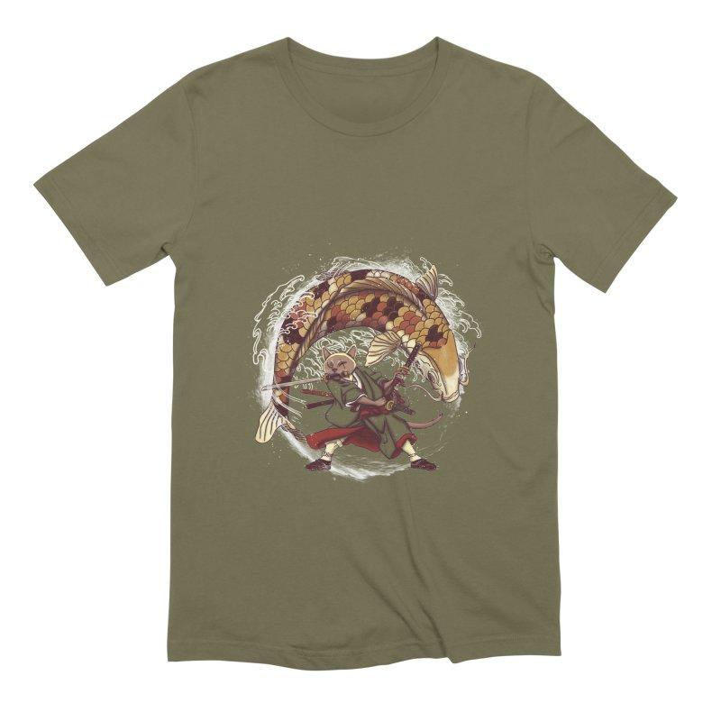Three Swords Cat Men's Extra Soft T-Shirt by xiaobaosg