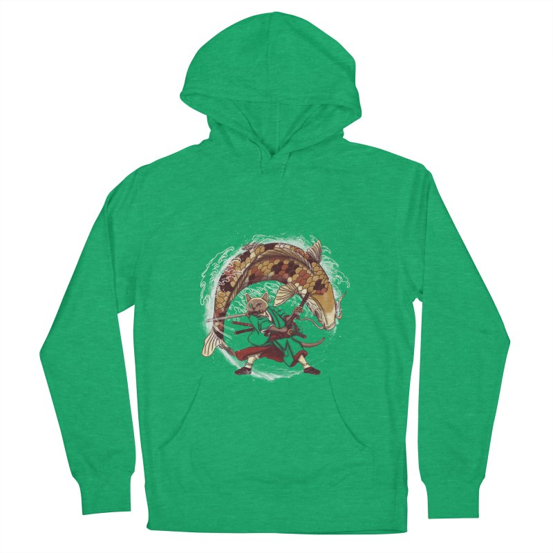 Three Swords Cat Women's French Terry Pullover Hoody by xiaobaosg