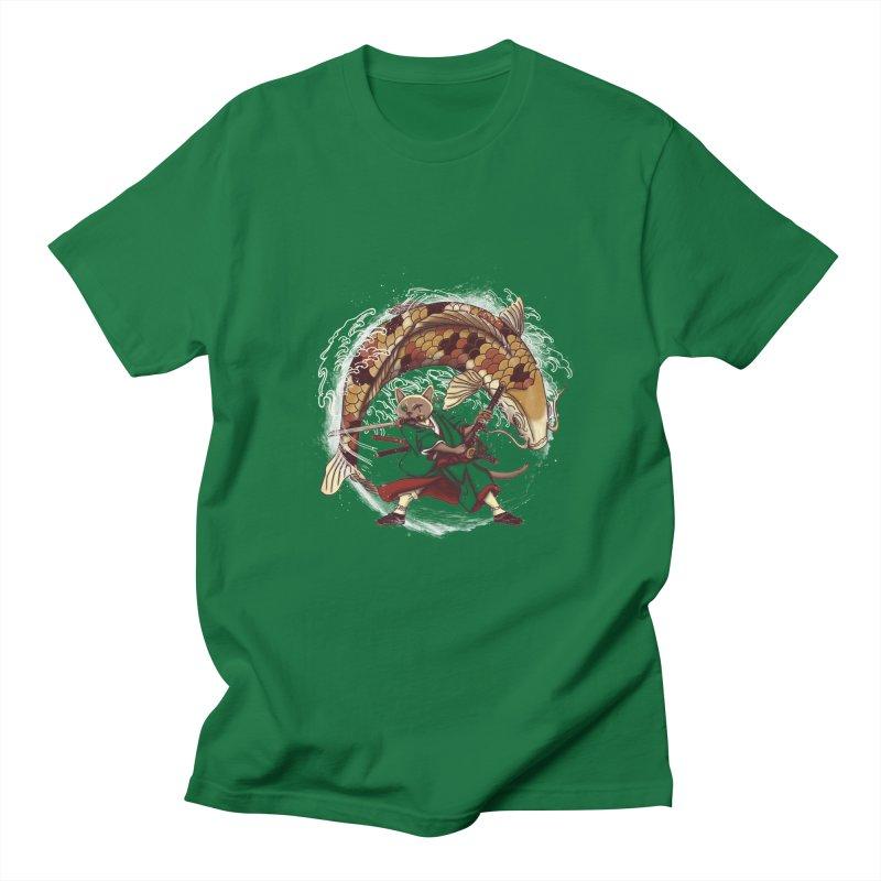 Three Swords Cat Women's Regular Unisex T-Shirt by xiaobaosg