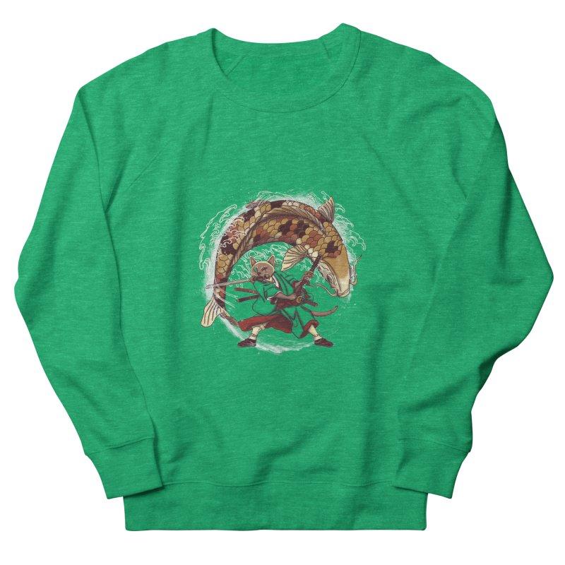 Three Swords Cat Women's French Terry Sweatshirt by xiaobaosg