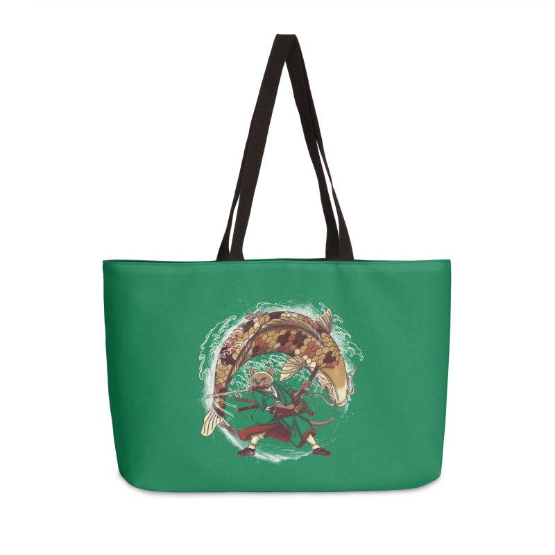 Three Swords Cat Accessories Weekender Bag Bag by xiaobaosg