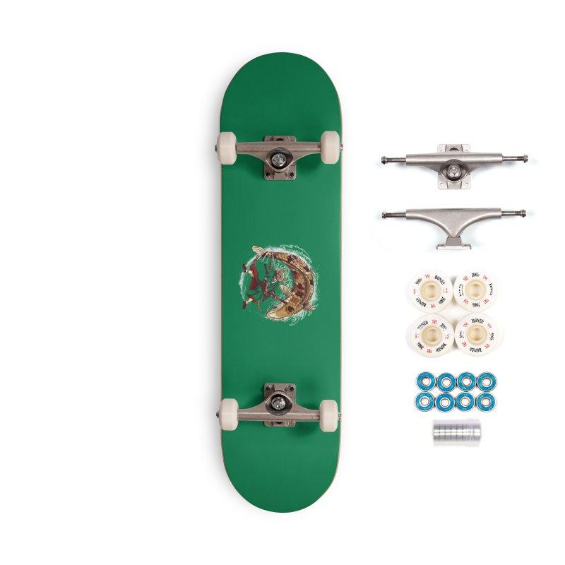 Three Swords Cat Accessories Complete - Premium Skateboard by xiaobaosg