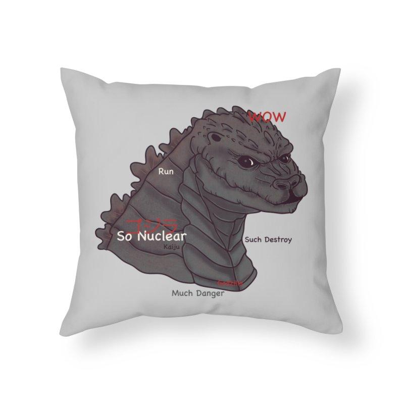 Gode Home Throw Pillow by xiaobaosg