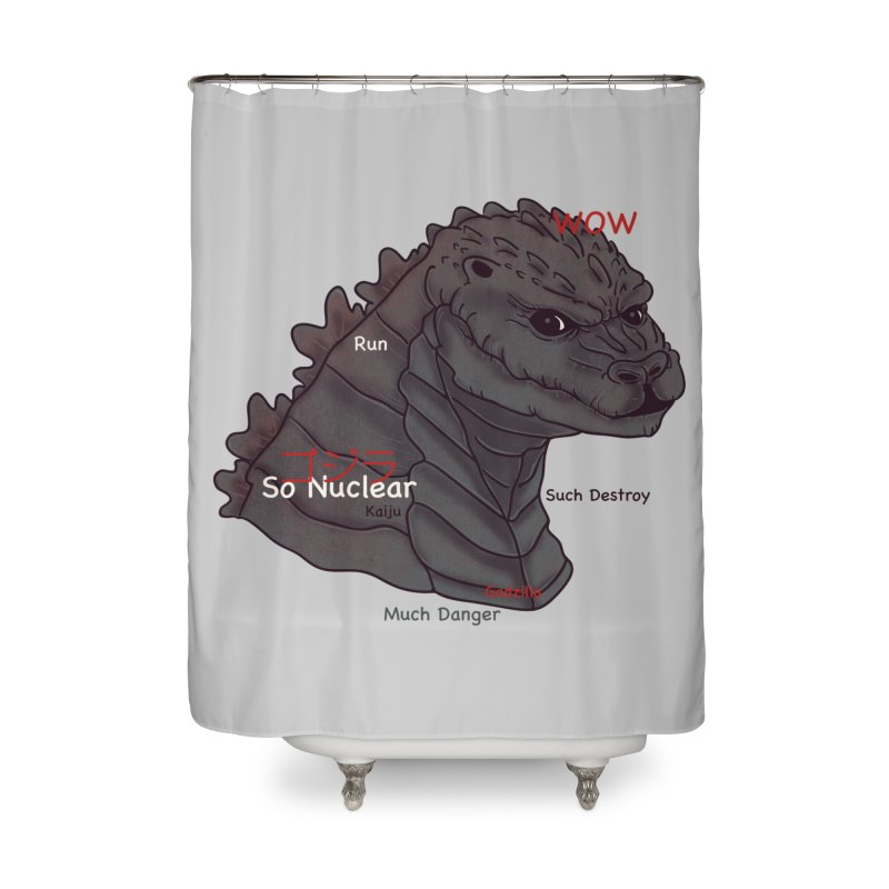 Gode Home Shower Curtain by xiaobaosg