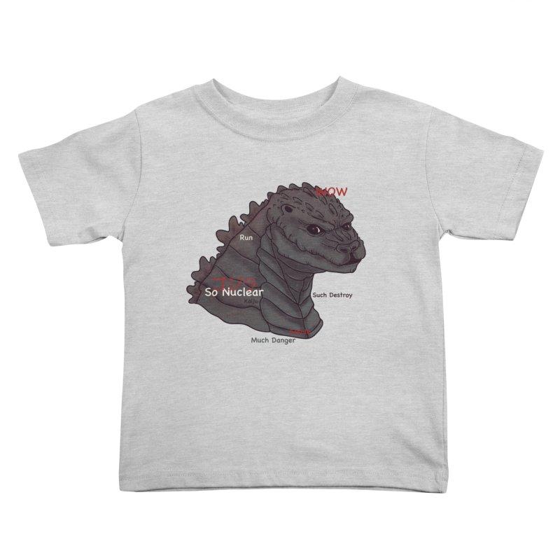 Gode Kids Toddler T-Shirt by xiaobaosg